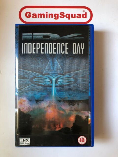 Independence Day VHS Video Retro, Supplied by Gaming Squad Ltd