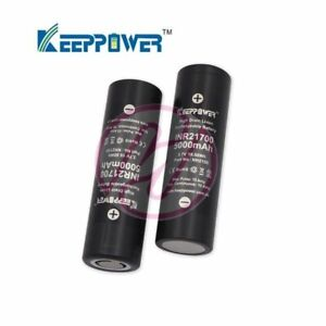 Keeppower-INR-21700-5000-mAh-Li-ion-15A-Rechargeable-Battery-x2-Samsung-50E