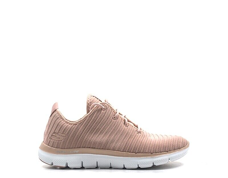 shoes Skechers Sport Woman Pink Fabric 12899-ROS-D