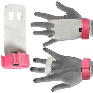 DéVoué Crossfit Grips Paume En Cuir Protecteurs Gymnastic Hand Guard Gym Gant Pull Ups-afficher Le Titre D'origine Performance Fiable