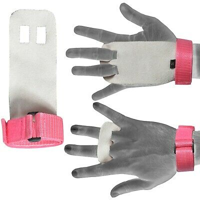 Fitness Gloves Leather Workout Weightlifting Gymnastics Pull Ups Hand Protector