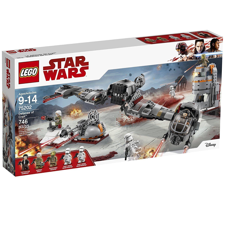 LEGO® estrella guerras Defense of Crait™  costruzione Play Set 75202 nuovo NIB  alta quaità
