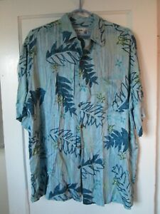 31096d278 Vintage Men's Large Size L Iolani Hawaiian Shirt Made in Hawaii USA ...