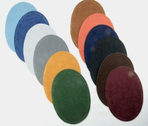 Flickstoff 2 Bügel Flecken Wildleder-Imitat zum Aufbügeln oder Aufnähen