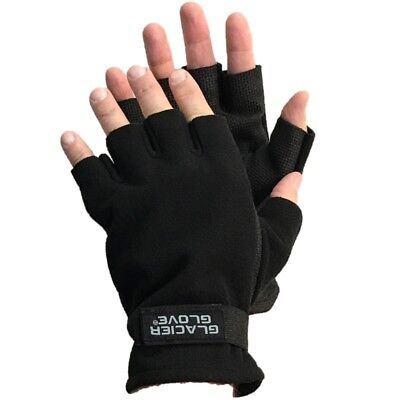 Alaska River Flip Mitt Gloves Fleece//Polyurethane Fishing Winter Glacier Glove
