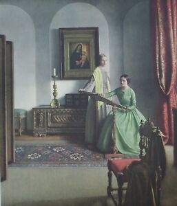 Leonard campbell taylor the sampler oil painting reproductions for.