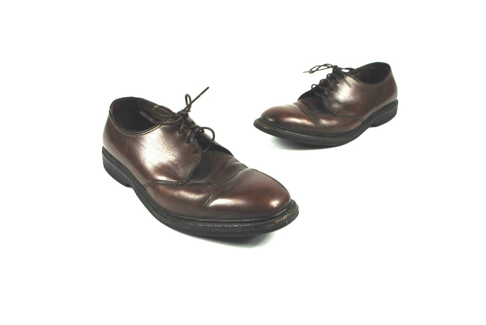Allen Edmonds Brown Pelle Oxfords- size 10 D #34179