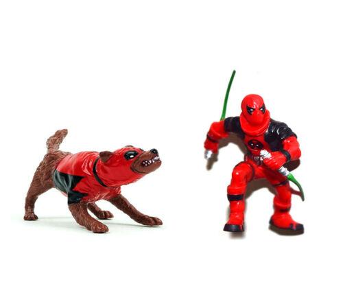 """Marvel Universe 3.75/"""" Deadpool Dogpool Kidpool Loose Action Figure"""