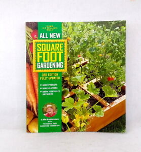 Square Foot Gardening by Mel Bartholomew used illustrated paperback 3rd edition