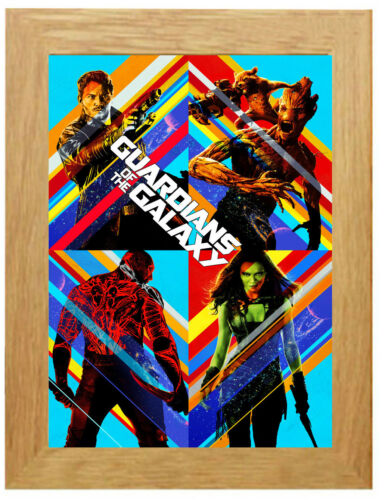 Guardians Of The Galaxy IMAX Poster or Canvas Art Print A3 A4 Sizes