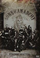 Sons Of Anarchy - Serie Tv - 4^ Stagione - Cofanetto Con 4 Dvd - Nuovo Sigillato