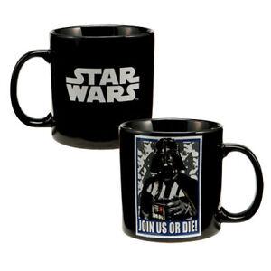 STAR-WARS-Darth-Vader-20oz-MUG-Cup-JOIN-US-OR-DIE