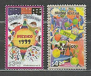 Mexico - Mail 1999 Yvert 1897/8 MNH Navidad