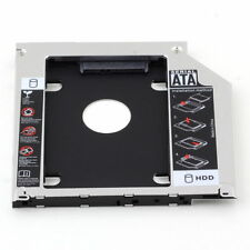 For Apple Macbook Pro Unibody 2nd HDD SSD SATA Hard Drive Caddy Optibay 9.5mm SY