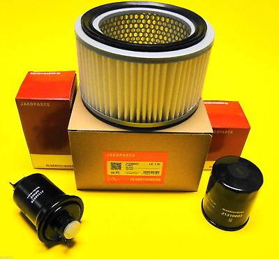 Filter Set für Suzuki Samurai Vergaser passend Ölfilter Luftfilter Benzinfilter