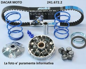 241-672-2-SET-HI-SPEED-POLINI-APRILIA-SR-50-R-FACTORY-Moteur-Piaggio