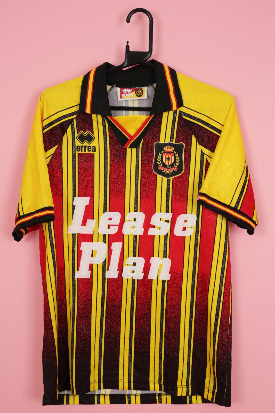 VINTAGE ERREA MECHELEN FOOTBALL RARE HOME SHIRT JERSEY TRIKOT 19941996 M
