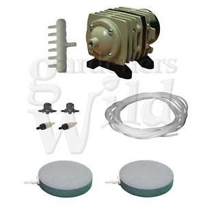 ACO208 Hailea Pompe à air 2x Air Accessoires hydroponique Fish Pond Aération-afficher le titre d`origine W0WYPbMz-07184401-932471603