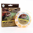 Fly Fishing Line 5WT Double Color Design Floating Weight Forward 2 Welded Loop