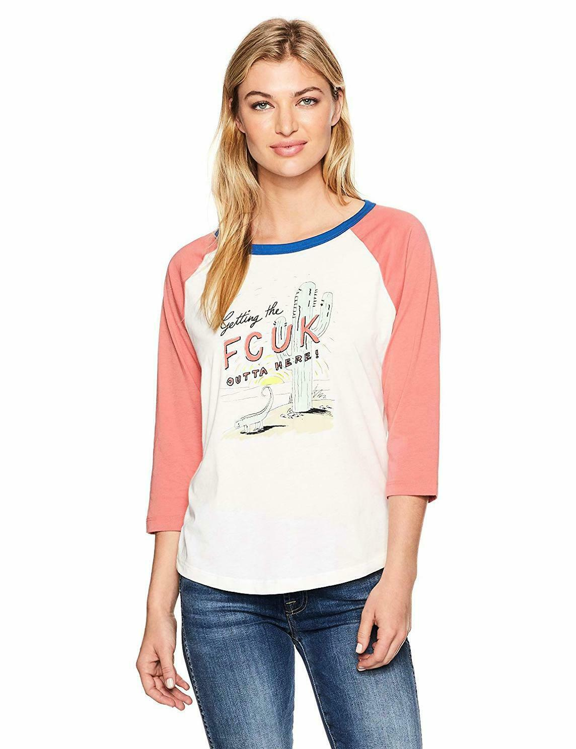 French Connection Femme FCUK Escapade tee-Choisir Taille coul