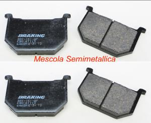 Braking Pastiglie Freno Anteriori Semimetalliche Per Suzuki 700 Gs E 1985-1988 Pour Effacer L'Ennui Et éTancher La Soif