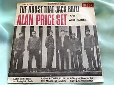 RAre South Africa 1967 PS & 45 : Alan Price Set ~ The House That Jack Built