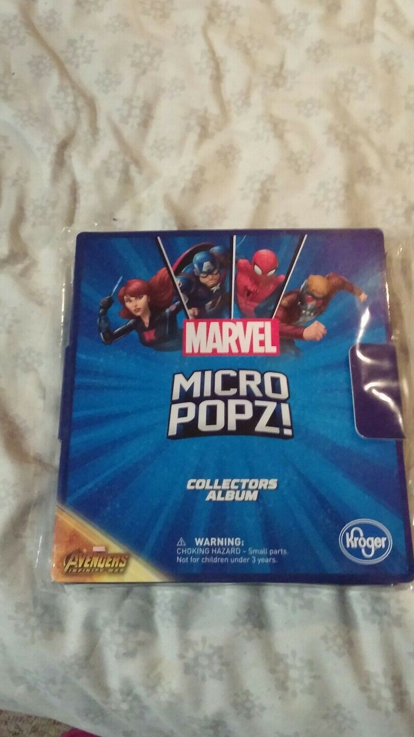 Marvel Micro Popz Kroger Collector Set