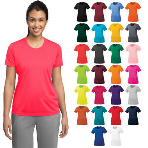 Dry shirt tek Fit Palestra Womens Umidità Allenamento Sport Performance T Lst350 BwApfHxq