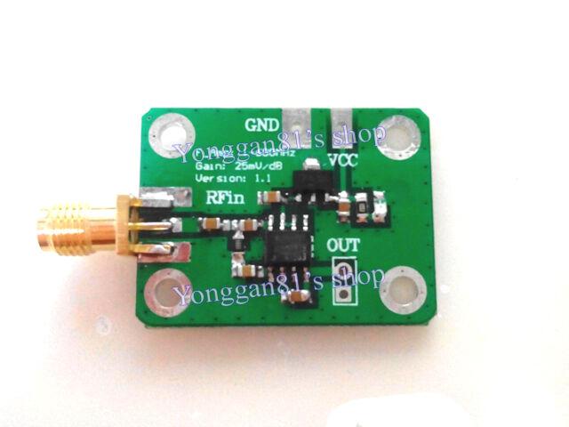 1-600MHz RF Signal Power Meter Logarithmic Detector Environment Field Detection
