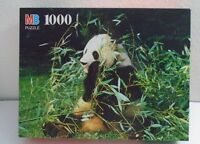 Giant Panda Bear Nature 1000 Piece Puzzle Brand Sealed Milton Bradley