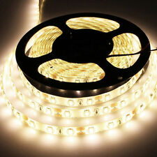 5M 300Leds 5630 Warm White Super Bright LED Strip SMD Light Waterproof 12V US DC