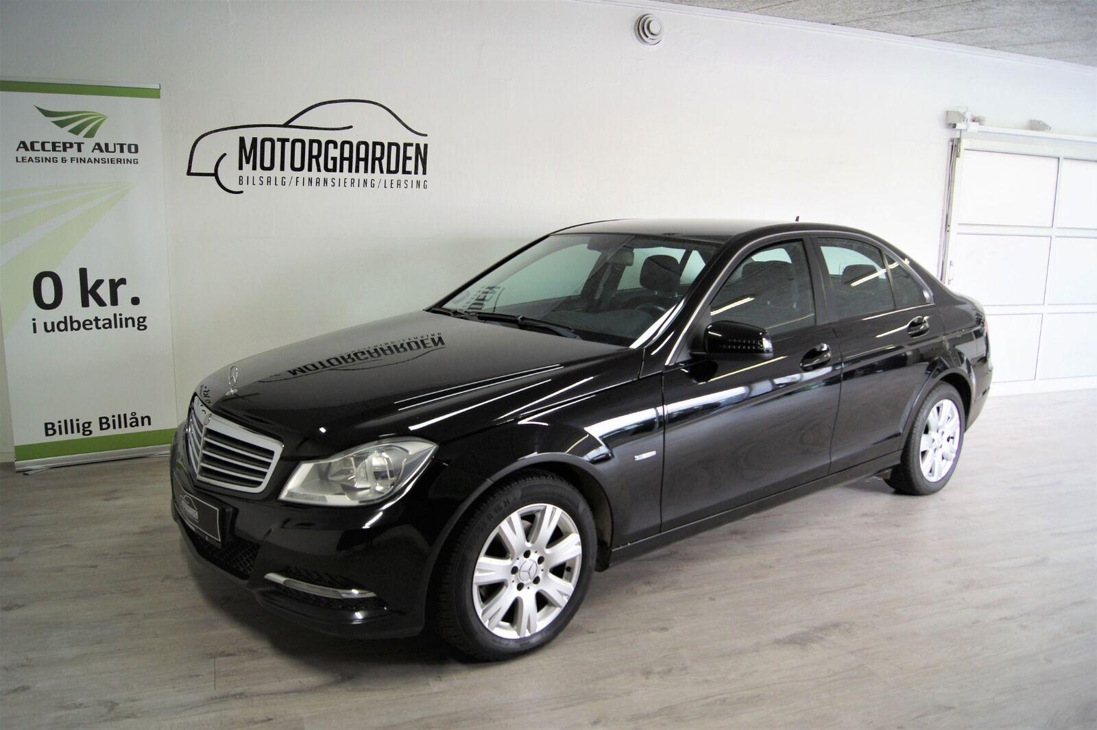 Mercedes C200 2,2 CDi BE 4d - 169.500 kr.
