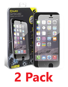Two-2-Pack-Tempered-Glass-Screen-Protector-iPhone-6-6S-7-8-7-Plus