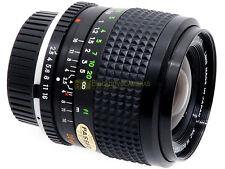 Minolta Obiettivo MC W Rokkor SI 28mm. f 1:2,5 matr. 1575217 RARO. Garanzia  12m