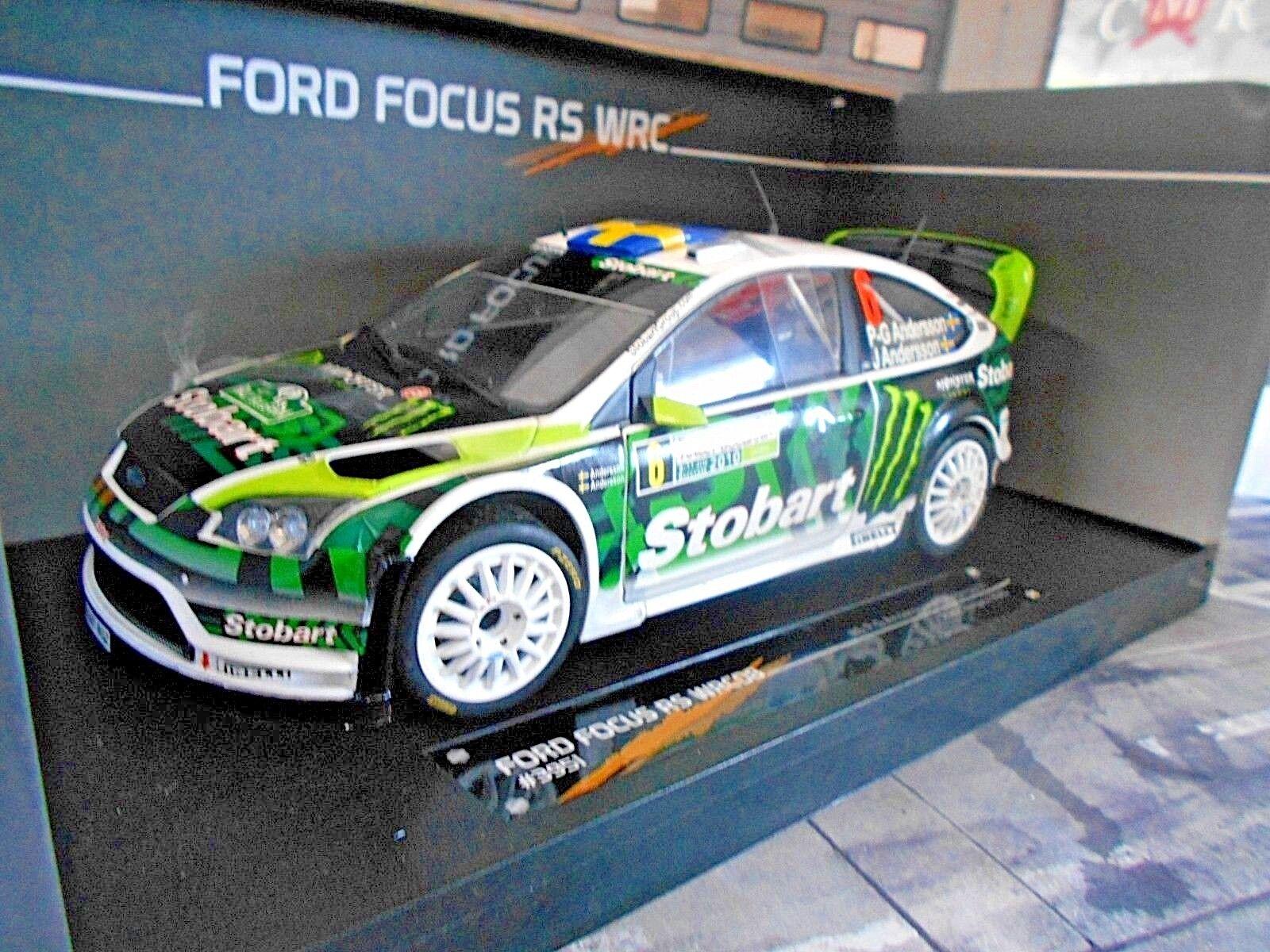 i nuovi marchi outlet online FORD Focus WRC RS RtuttiY BULGARIA 2010 2010 2010  6 PG eersson Stobart S SUNestrella 1 18  vendite online