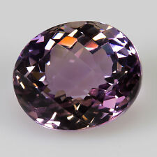 9.27 ct Ametrine Chequerboard/oval cut 13.75x11.65mm VVS Natural loose gemstone