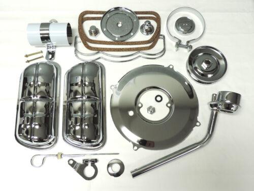 VW engine dress up kit chrome VW chrome valve covers coil cover bug chrome kit