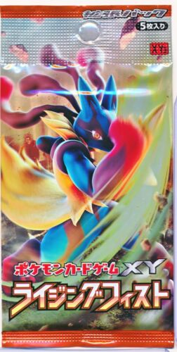 Rising Fist Booster 1 Pack Sealed Japanese card Pokemon XY