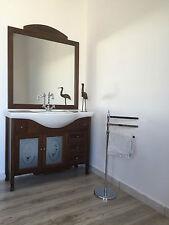 arredo bagno arte povera mobile bagno in legno con lavabo 105 cm IN OFFERTA!!