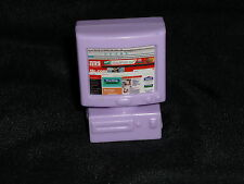Barbie or Loving Family Size Dollhouse Purple Miniature Computer