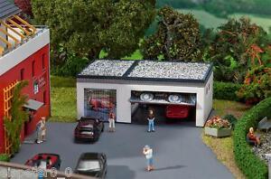 Faller-130319-Spur-H0-Garage-mit-Antriebst-Miniaturwelten-Modell-Bausatz-1-87