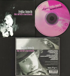 LYDIA-LUNCH-the-Devil-039-s-Racetrack-NEW-CD-Spoken-Word