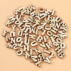 Cdet 1X Vintage Wooden Letter A-Z Standing Alphabet Word DIY Decorations Photo Prop for Wedding Party