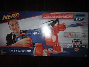 Nerf N Strike Elite HyperFire Blaster  Nerf Gun - <span itemprop='availableAtOrFrom'>Kettering, United Kingdom</span> - Nerf N Strike Elite HyperFire Blaster  Nerf Gun - Kettering, United Kingdom