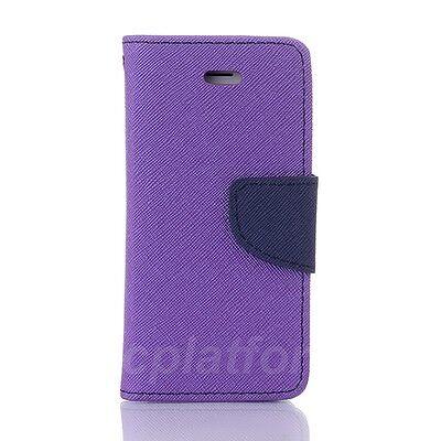 Handy Tasche für Samsung Apple iPhone Sony HTC Flip Case Schutz Hülle Cover Etui