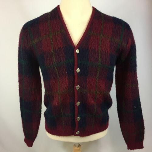 Vintage Gabardine Rockabilly Campus Mohair Wool Ca