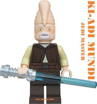 Lego Star Wars Jedi Ki Adi Mundi 100/% Lego Mestre Jedi Conjunto 7959 Novo Clone Wars