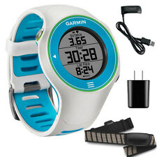 Garmin Forerunner 610 WHITE GPS Sport Trainer Fitness Watch with Premium HRM