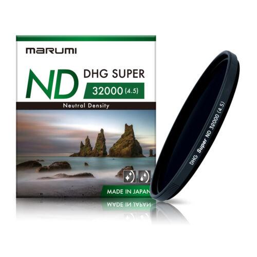 Marumi DHG Super ND32000 Filtro de densidad neutra 52mmFotografía Profesional
