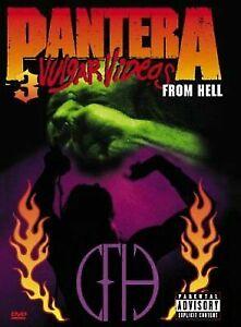 Pantera-3-Vulgar-Videos-from-Hell-DVD-1999-2-Disc-Set